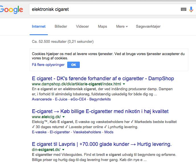 elektronisk cigaret